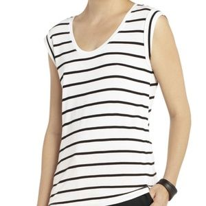 Anabella Short-sleeve Top with Pleats